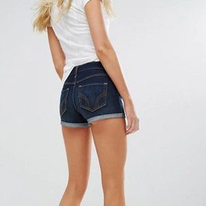 Hollister Medium Wash Denim Jean Shorts